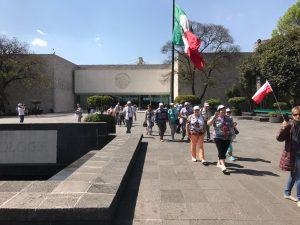 Mexico City - Narodowe Muzeum Antropologiczne